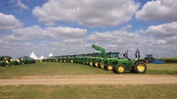 John Deere à Innov-Agri 2014