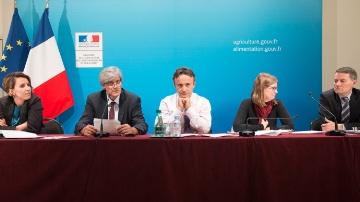 Stéphane Le Foll lors de la présentation du projet de budget 2015