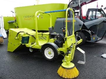 Sweeper, l'automoteur de 26 ch diesel de Storti