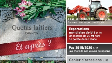 Quotas laitiers : et apr�s ?