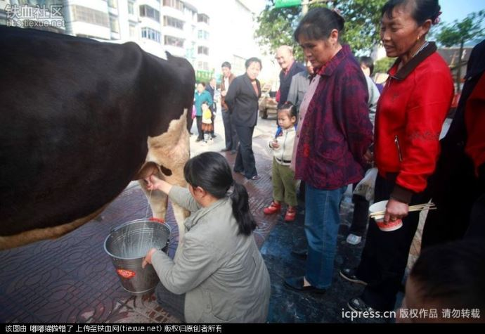 traite chine dans la rue