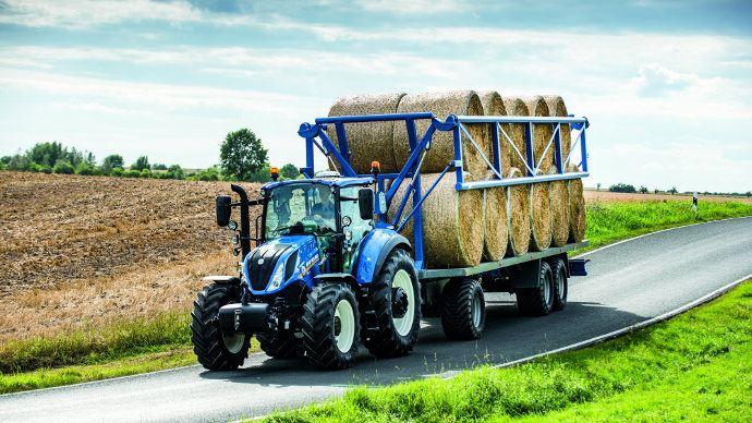 Tracteurs d'élevage - Polyvalents, maniables et compacts, les T5 New Holland millésime 2016 arrivent
