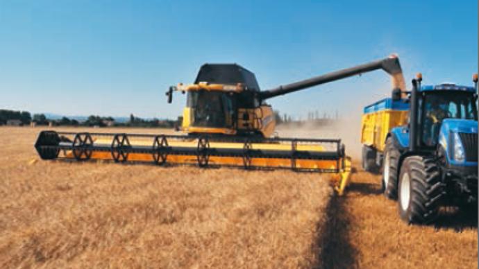 La cote occasion moissonneuse - New Holland CR9080, une avaleuse d'hectares