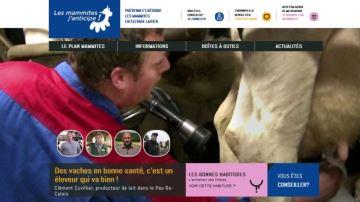 «Les mammites j'anticipe!  » désormais sur le web