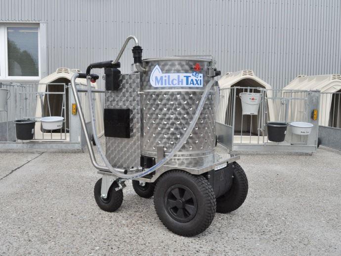 Milchtaxi 4.0 (Milk Taxi) - Holm & Laue GmbH & Co.KG, Westerrönfeld, Allemande