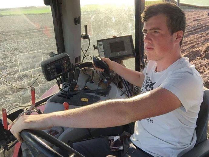 Clément Vlaminck, élève en lycée agricole dans le Pas-de-Calais
