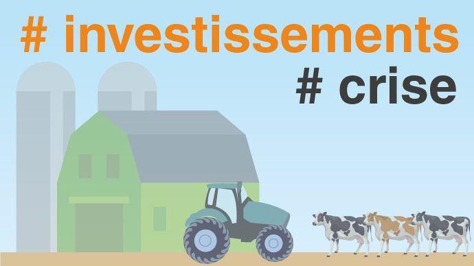 Les agriculteurs continuent d'investir