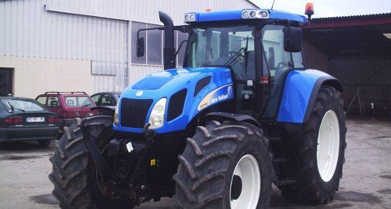 Fiche occasion du New Holland Tvt 190