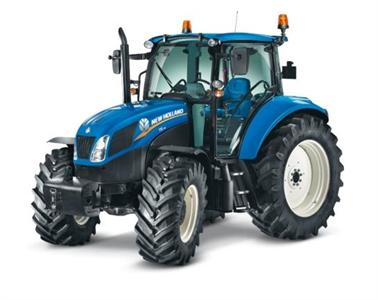 Tracteur T5, nouvelle version 2012 de New Holland.