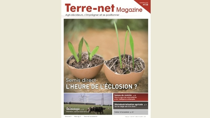 Couverture Terre-net Magazine n°28