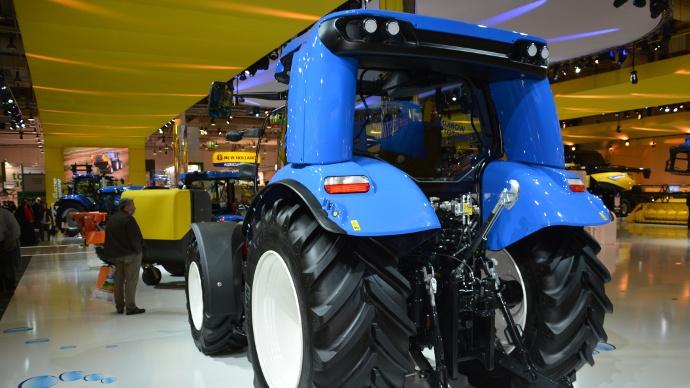 Un tracteur au méthane pour une ferme énergétiquement indépendante