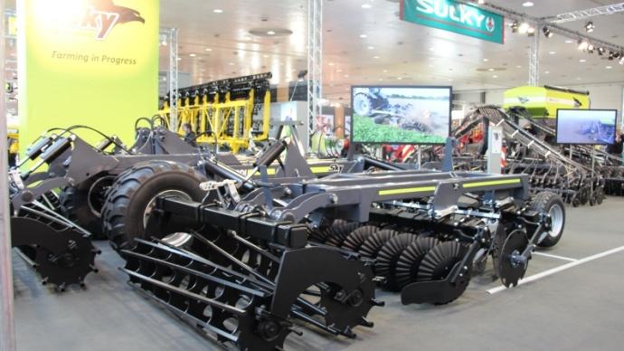 Agritechnica 2013 - L�export important pour le groupe Sulky Burel