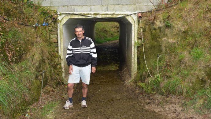 Boviduc - tunnel à vaches