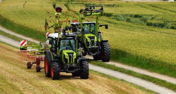tracteurs Claas Elios 200 et Arion 400