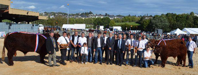 Les champions du national Salers à Mauriac.