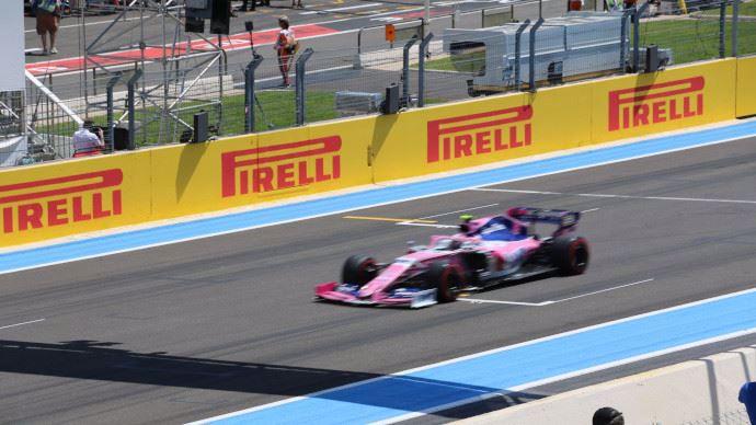 Voiture de l'écurie Racing Point F1