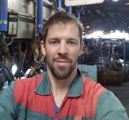 Tanguy Paranthoen, éleveur laitier breton