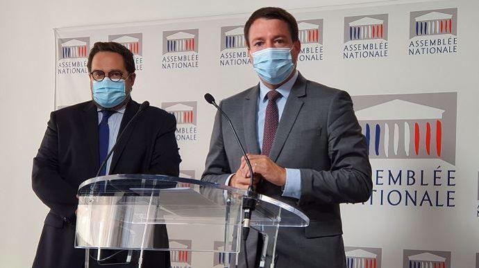Antoine Savignat, député LR du Val-d'Oise, et Jean Terlier, député LREM du Tarn, sont corapporteurs de la mission d'information de la commission des lois de l'Assemblée nationale sur le régime juridique des baux ruraux.