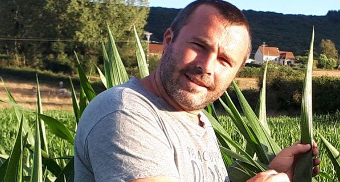 Jérome Lhoste est éleveur de Charolaises en Saône-et-Loire