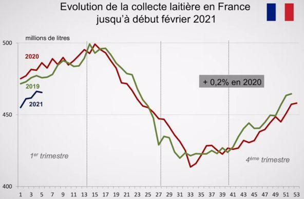 Collecte laitière française