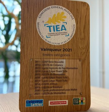 TIEA: trophée international de l'enseignement agricole