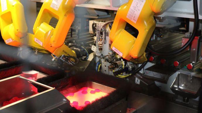 Robot de sertissage