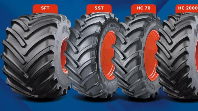gamme agricole de pneumatiques Mitas Premium