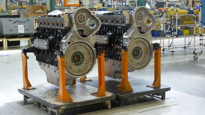 Moteurs diesel FPT Cursor au montage à Bourbon-Lancy