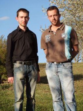 Matthieu Lamouzy et Jeremy Raysseguier, co-présidents de Rêv.E.Patri.Arbo