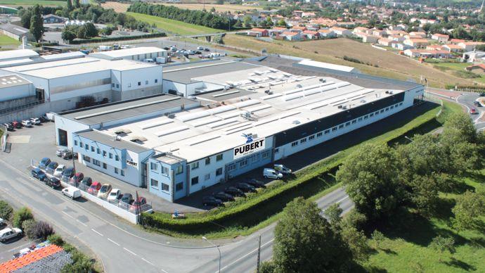 Pubert est implanté à Chantonnay en Vendée depuis 1900.