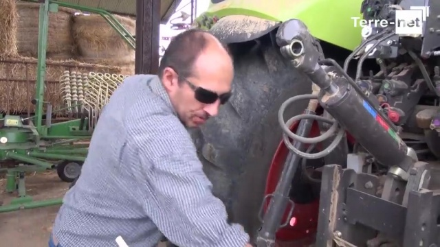 Thierry Rondeau, agriessayeur : « Un tracteur bien pensé »