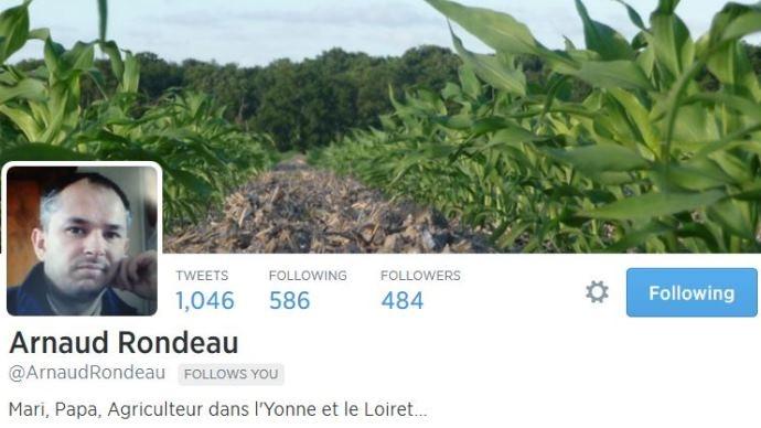 La rédaction de Terre-net a pris contact avec Arnaud Rondeau sur Twitter.