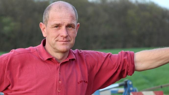Hubert Daveau agriulteur dans le Loiret
