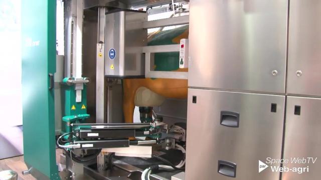 Apollo MilkSystem, le faisceau trayeur qui applique les produits de trempage
