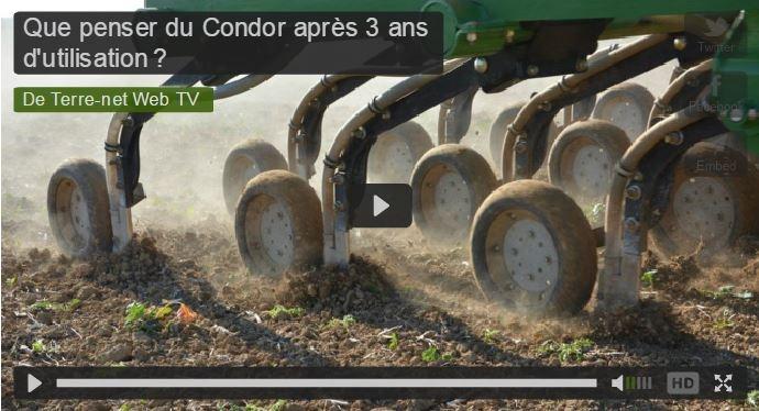 Semoir Amazone Condor 12m semis direct