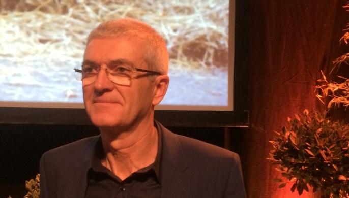 Bernard Lannes, président de la Coordination rurale au 21ème congrès d'Agen
