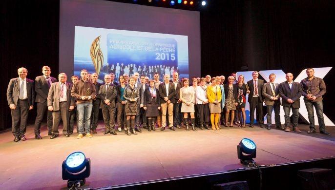 Les lauréats de la 23ème édition du prix national de la dynamique agricole.