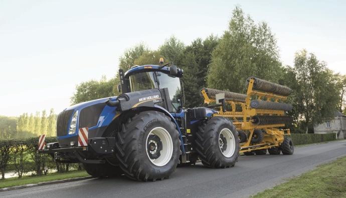 Les quatre modèles de la gamme (comprenant 8 tracteurs) commercialisé en Europe développe une puissance max allant de 410 à 557 ch (sans Epm) : T9.435 (410 ch) ; T9.480 (469) ; T9.530 (524) ; T9.565 (557).