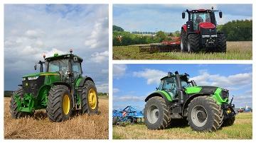 Trois tracteurs de plus de 300 ch à l'essai