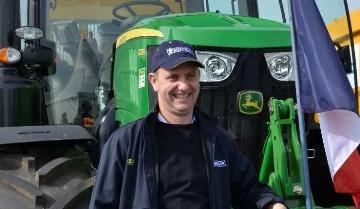 Un Français élu conducteur européen de tracteurs