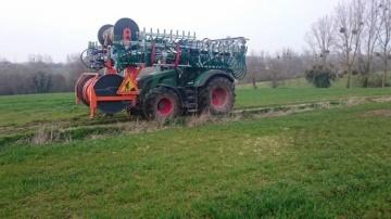 Plus respectueux des sols,l'épandage centraliséséduit les éleveurs