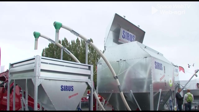 Le Duo vrac de Sirus stocke deux aliments dans unseul silo