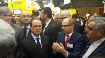 Insultes pour François Hollande et heurts au Salon de l'agriculture