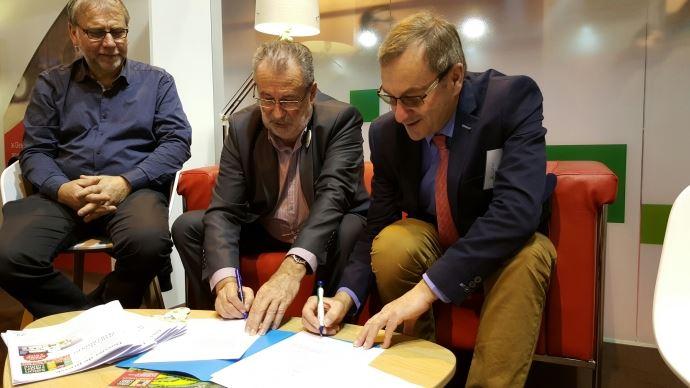 Guy Vasseur, président de l'Apca et Emmanuel Hyest, président de la FNSafer
