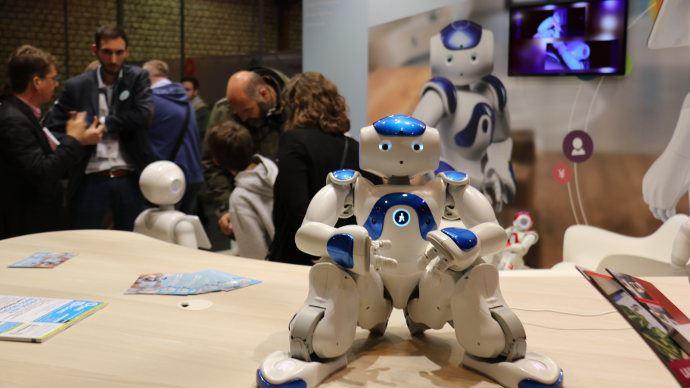 Nao, le grand frère de Pepper de SoftBank Robotics