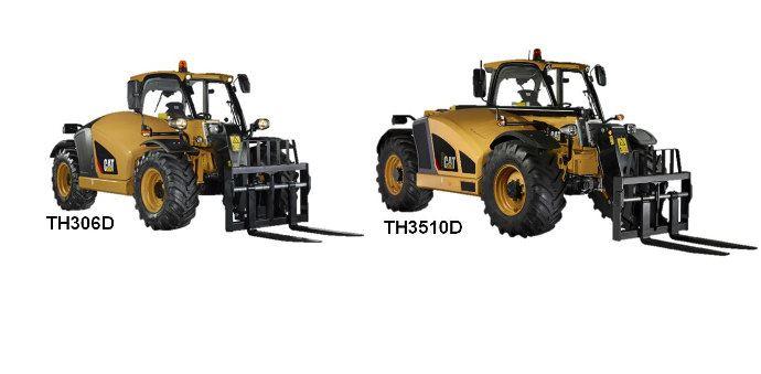 Caterpillar TH306D et TH3510D, 2 nouveaux télescopiques lancé cette année