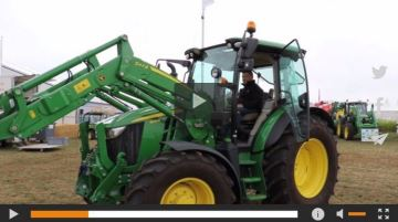 John Deere présente lasérie 5R en avant-première à Innov-agri