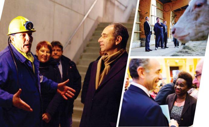 Visuel présentant le programme de Jean-François Copé pour la primaire de la droite et du centre.