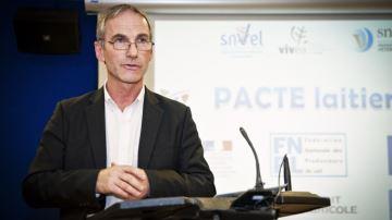 Thierry Roquefeuil revient à la présidence du Cniel