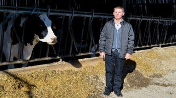 R. Desblés reçoit 1142¤ pour les 2,6t de CH4 que ses vaches n'ont pas émis